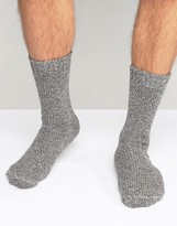 Asos Slipper Socks In Twisted Yarn