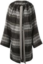 Vivienne Westwood checked single breasted coat