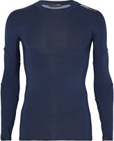 Rlx Ralph Lauren - Mesh-pannelled Compression T-shirt