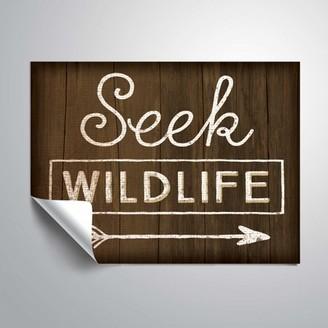 ArtWall Seek Wildlife, Removable Wall Art Mural by Jennifer Pugh