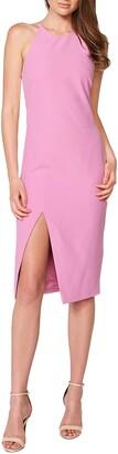 Bardot Vera Open Back Halter Dress