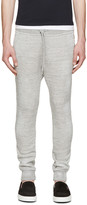 DSQUARED2 Grey Distressed Lounge Pants
