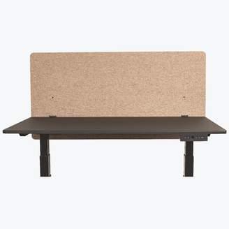 "Luxor Reclaim Acoustic 1 Panel Desk Privacy Panel Color: Desert Sand, Width: 48"""