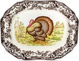 Spode Woodland Turkey Octogonal Platter