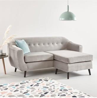 Lavina Fabric 3 Seater Right Hand Corner Chaise Sofa