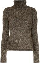 Osman glitter roll neck sweater