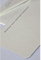 The Well Appointed House Newman Personalized Letterpress Note Cards