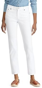 Ralph Lauren Ralph Straight Leg Jeans in White