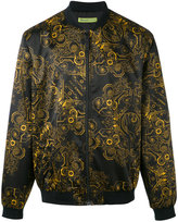 Versace Duchesse Techno Baroque print bomber jacket - men - Elastodiene/Polyamide/Polyester/Spandex/Elastane - 54