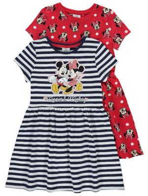 Disney George Minnie Mouse Dress 2 Pack