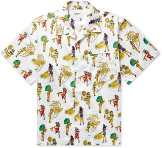 WTAPS Camp-Collar Printed Cotton Shirt