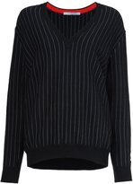 Givenchy pinstripe pullover sweater