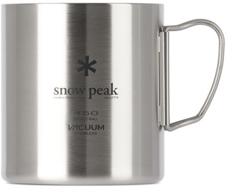 Snow Peak Silver Vacuum Double Wall 450 Mug
