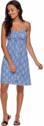 Esky Skye Women's Demi Bandeau Dress Cover Up with Cascading Front Detail