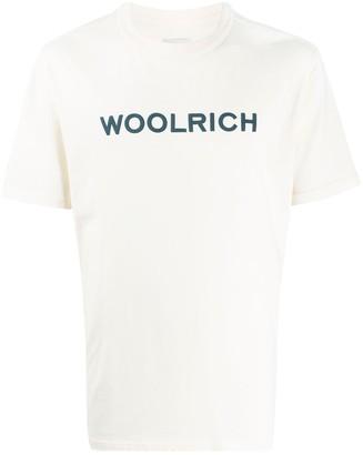Woolrich cotton logo print T-shirt