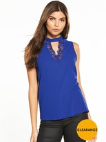 Vero Moda Philipa Sleevless Choker Top