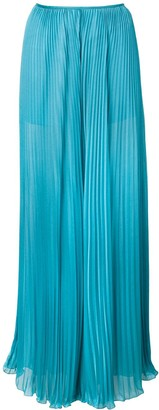 Alberta Ferretti Pleated Wide-Leg Trousers