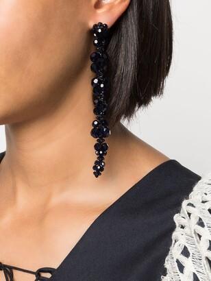 Simone Rocha Crystal Drop Earrings