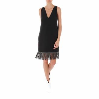 Philosophy di Lorenzo Serafini Fringed Mini Dress