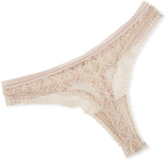 Chloé Else Lace Thong Underwear
