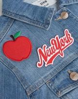 Orelia New York Embroidery Badge