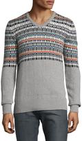 Trina Turk Men's Baltazar Cotton V-Neck Sweater