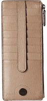 Lodis Business Chic RFID Credit Card Case with Zipper Pocket Wallet