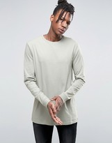 Asos Longline Long Sleeve T-shirt
