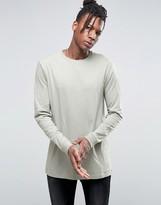 Asos Longline Long Sleeve T-shirt