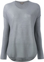 N.Peal cashmere super fine elbow patch jumper - women - Cashmere - M