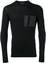 Les Hommes long sleeve T-shirt - men - Cotton/Polyester - M
