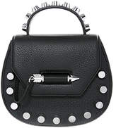 Mackage Wilma Leather Round Crossbody Bag