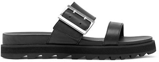 Sorel Roaming Leather Platform Slides