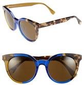 Fendi Women's 51Mm Sunglasses - Havana