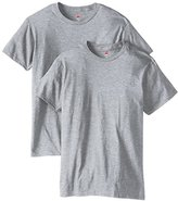 Hanes Men's Nano Premium Cotton T-Shirt (Pack of 2)