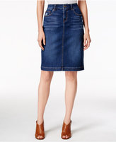 Style&Co. Style & Co. Denim Tummy-Control Pencil Skirt, Only at Macy's