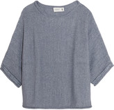 Pringle Chunky-knit cotton-blend sweater