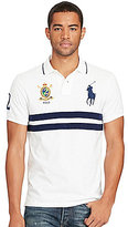 Polo Ralph Lauren Classic-Fit Big Pony Chest-Stripe Short-Sleeve Polo Shirt