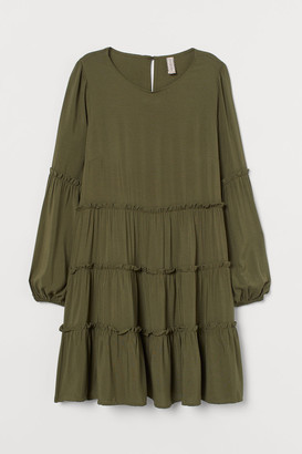 H&M Flared Dress - Green