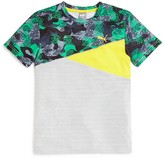 Puma Boys' Pieced Colorblock Tee - Sizes S-XL