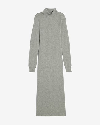 Express Turtleneck Maxi Sweater Dress
