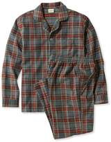 L.L. Bean Scotch Plaid Flannel Pajamas