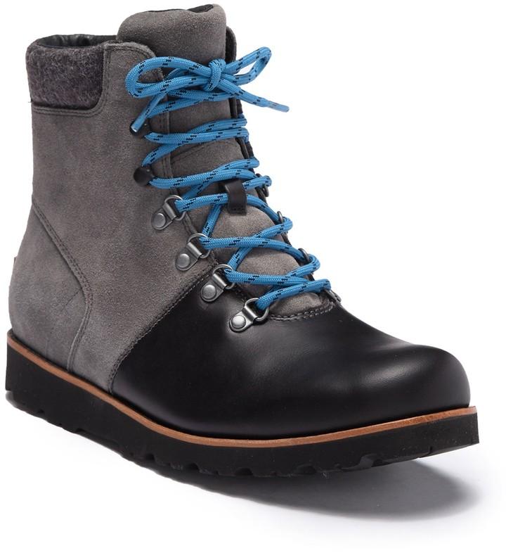 UGG Halfdan Suede Hiking Boot - ShopStyle