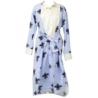 Loewe Blue Cotton Dresses