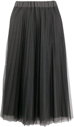 P.A.R.O.S.H. Tulle A-Line Skirt