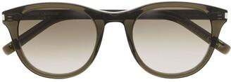 Saint Laurent Eyewear SL401 round frame glasses