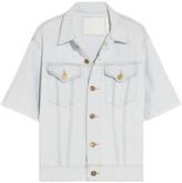 Bassike Frayed Denim Jacket - x small