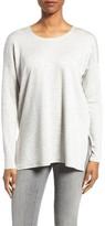 Eileen Fisher Women's Stripe Stretch Tencel Top