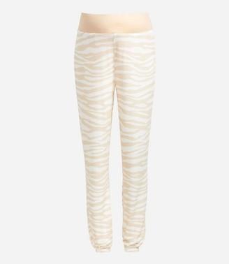 LOFT Maternity Marled Zebra Print Pajama Pants