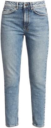 Ksubi Nine-O-Jinx High-Rise Straight-Leg Jeans